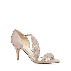 No. 1 Jenny Packham - Pink suede studded high leather sandals