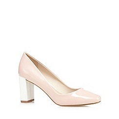 J by Jasper Conran - Light pink patent high court shoes
