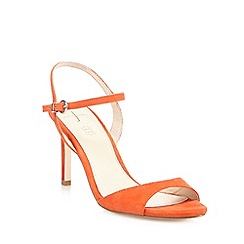 J by Jasper Conran - Orange suede high sandals