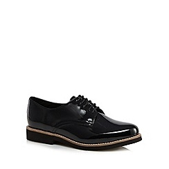 RJR.John Rocha - Black patent leather flat shoes