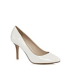 Principles by Ben de Lisi - White patent high court shoes