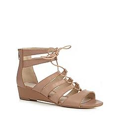 RJR.John Rocha - Pink 'Rupert Ghillie' sandals