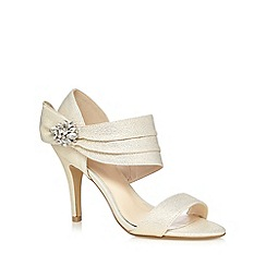No. 1 Jenny Packham - Ivory diamante sash high sandals