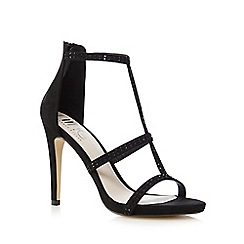 Nine by Savannah Miller - Black cut out sandals