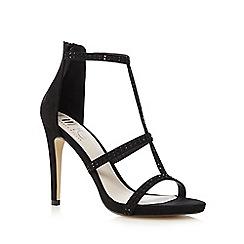 Nine by Savannah Miller - Black cut out sandals