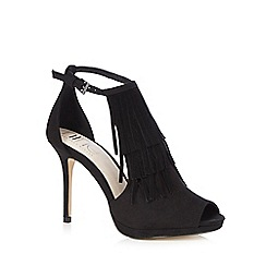 Nine by Savannah Miller - Black 'Shanice' high heel shoes
