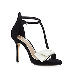 J by Jasper Conran - Black 'Jones' high sandals