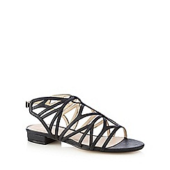 J by Jasper Conran - Black cut-out sandals
