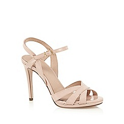 J by Jasper Conran - Light pink patent high sandals