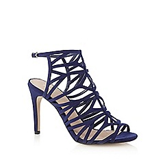 J by Jasper Conran - Navy caged high sandals
