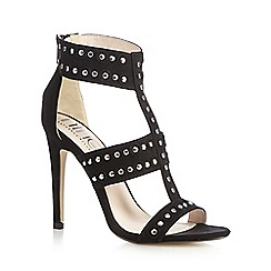 Nine by Savannah Miller - Black 'Surin' high sandals