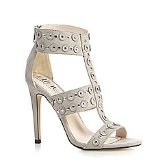 Nine by Savannah Miller - Grey 'Surin' high sandals