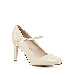 Principles by Ben de Lisi - Cream patent high heel shoes