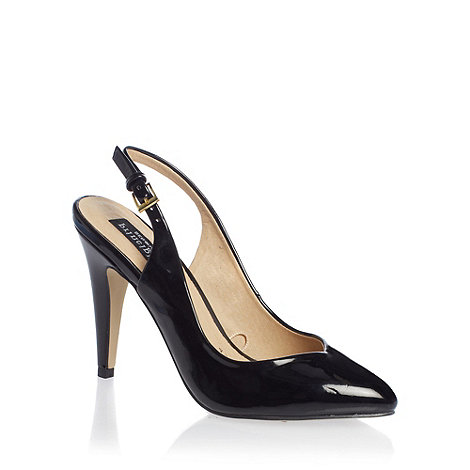 Principles by Ben de Lisi - Black +enette+ high heel patent shoes