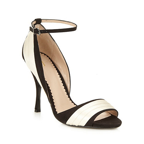 J by Jasper Conran - Designer white satin panel high sandals