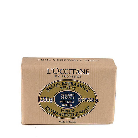 L+Occitane en Provence - Verbena shea butter soap 250g