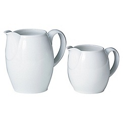 Denby - White large jug