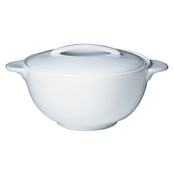 Denby - White covered vegetable dish