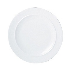 Denby - Glazed 'White' dinner plate