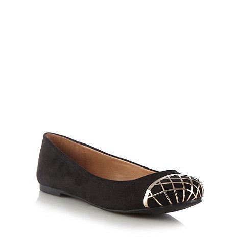 Call It Spring - Black +rhoan+ wire toe cap pumps