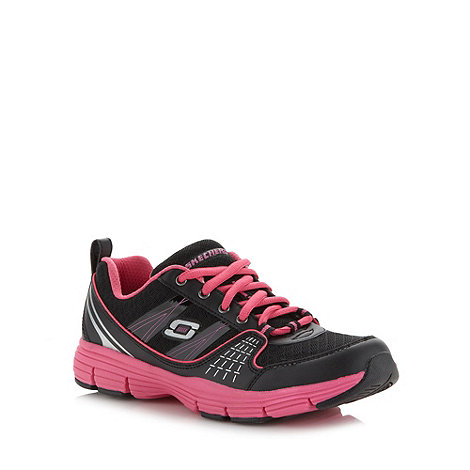 Skechers - Pink +uninterrupted+ trainers