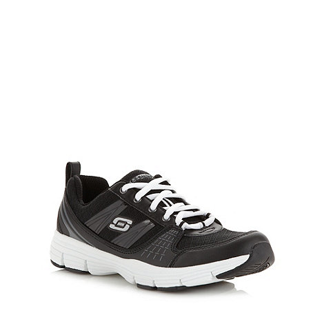 Skechers - Black +uninterrupted+ trainers