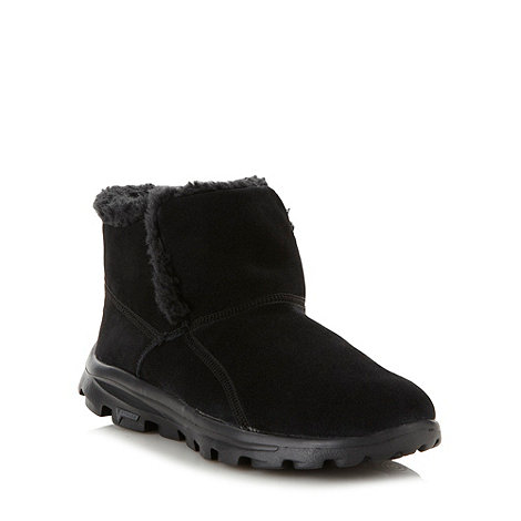 Skechers - Black +Chugga+ suede boots