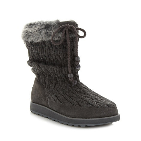 Skechers - Grey +Keepsakes Blur+ ankle boots