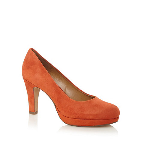 Clarks - Orange +Anika Kendra+ high court shoes