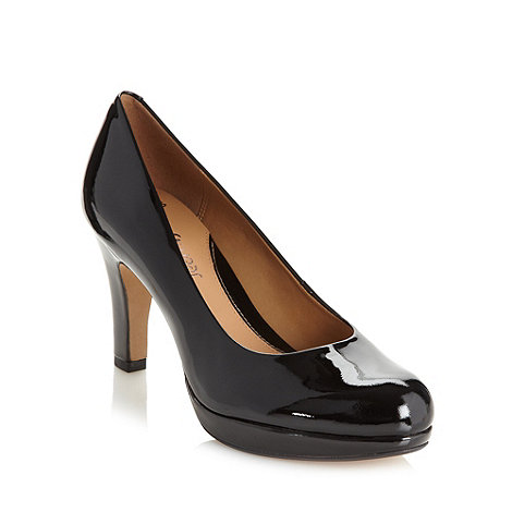 Clarks - Black +Anika Kendra+ high heel court shoes
