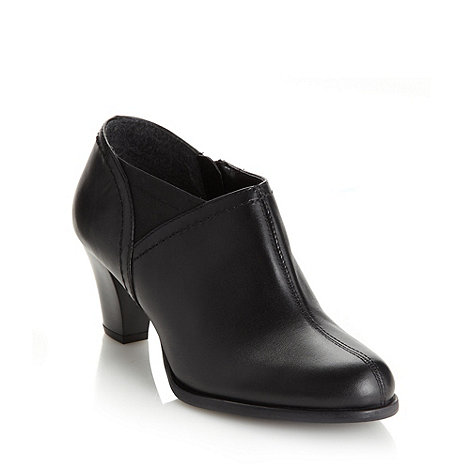 Clarks - Black +Babs Lease+ mid shoe boots