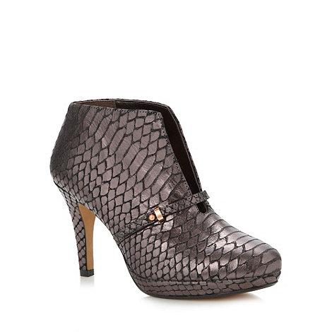 Clarks - Metallic leather +Blair Lockwood+ high shoe boots