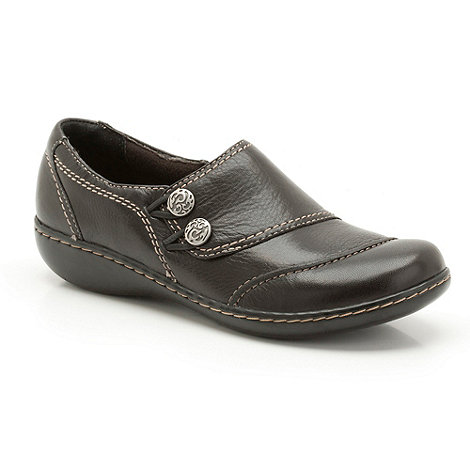 Clarks - Black +embrace charm+ low shoes