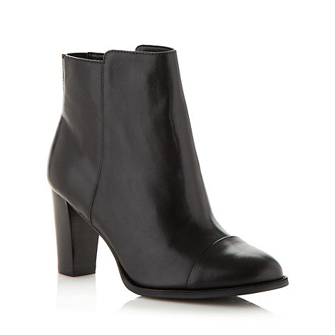 Clarks - Black 'kacia alfresco' leather high ankle boots