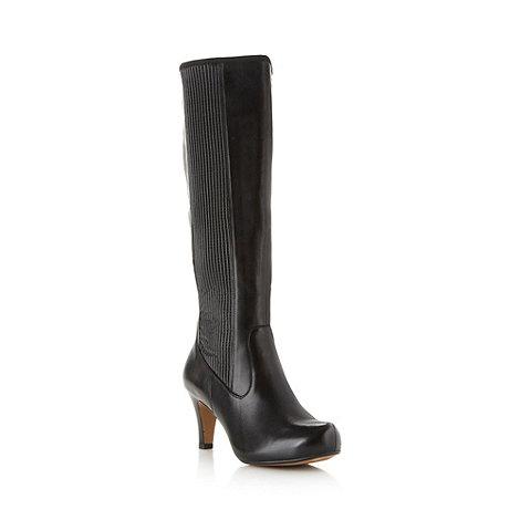 Clarks - Black +Kansas Chorus+ knee length boots
