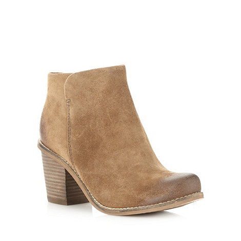 Clarks - Khaki +marble cool+ mid ankle boots