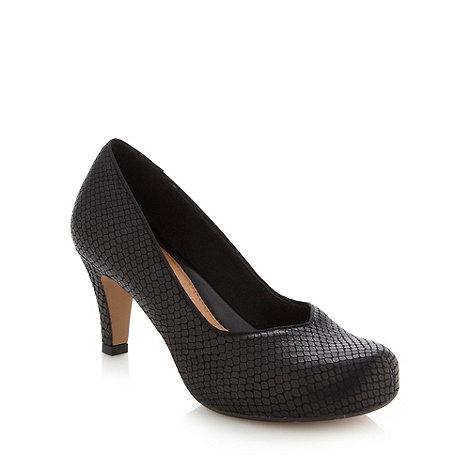 Clarks - Black +chorus voice+ mid court shoes