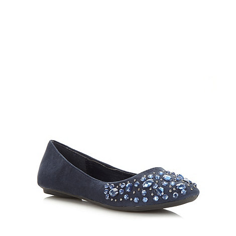Call It Spring - Blue +drabolas+ embellished pumps