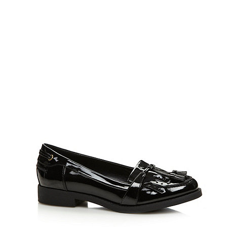 Call It Spring - Black +Flohema+ patent loafers
