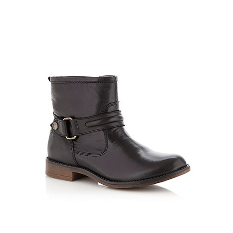 Call It Spring - Black leather +SRABA+ ankle boots