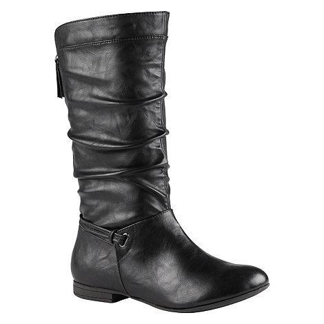 Call It Spring - Black +Jandik+ calf length boot