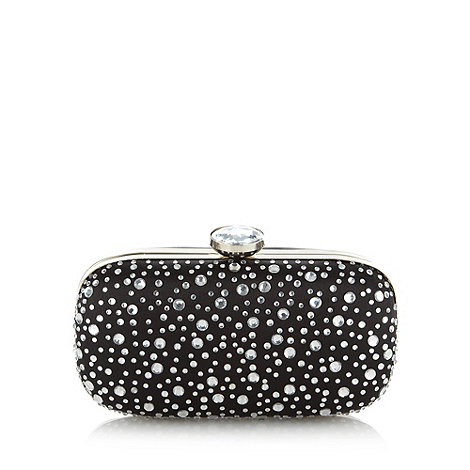 Call It Spring - Black +Fial+ embellished clutch bag