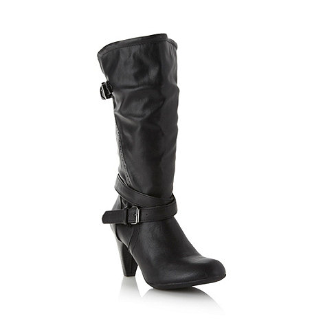 Call It Spring - Black +Ardyth+ high heel boots