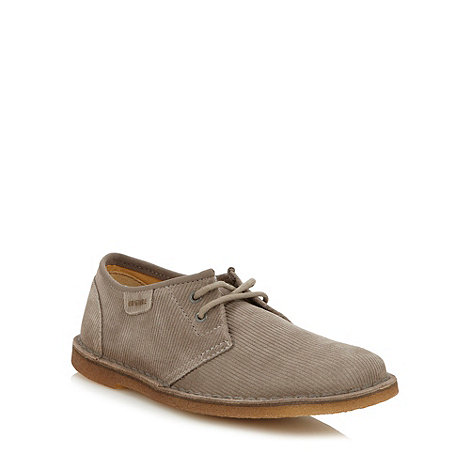 Clarks - Originals grey cord +Jink+ shoes