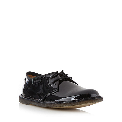 Clarks - Black patent leather +Jink+ boots