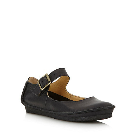 Clarks - Black +Faraway Fell+ pumps