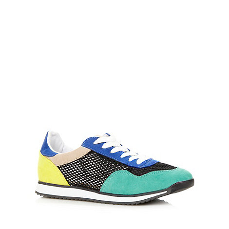 Call It Spring - Black +Mikeskova+ colour block trainers