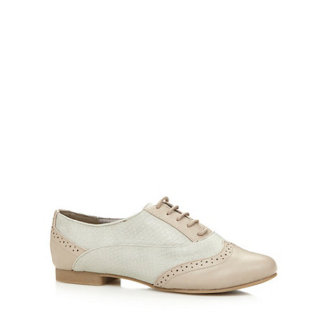 Call It Spring - Taupe +Sorvagur+ brogues