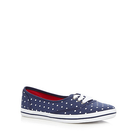 Call It Spring - Navy +Yaleri+ polka dot pumps