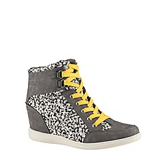 Call It Spring - Pale grey 'Ashkenazi' wedge trainers